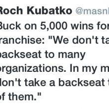Buck Talks 5K Wins