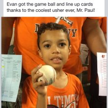 Evan Got Game Ball