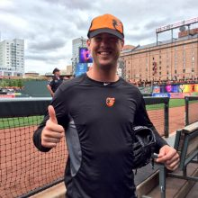 Matusz With Cap