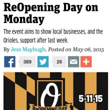 Reopening Day